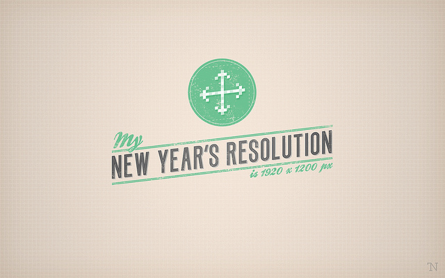New Year Resolution Wallpaper