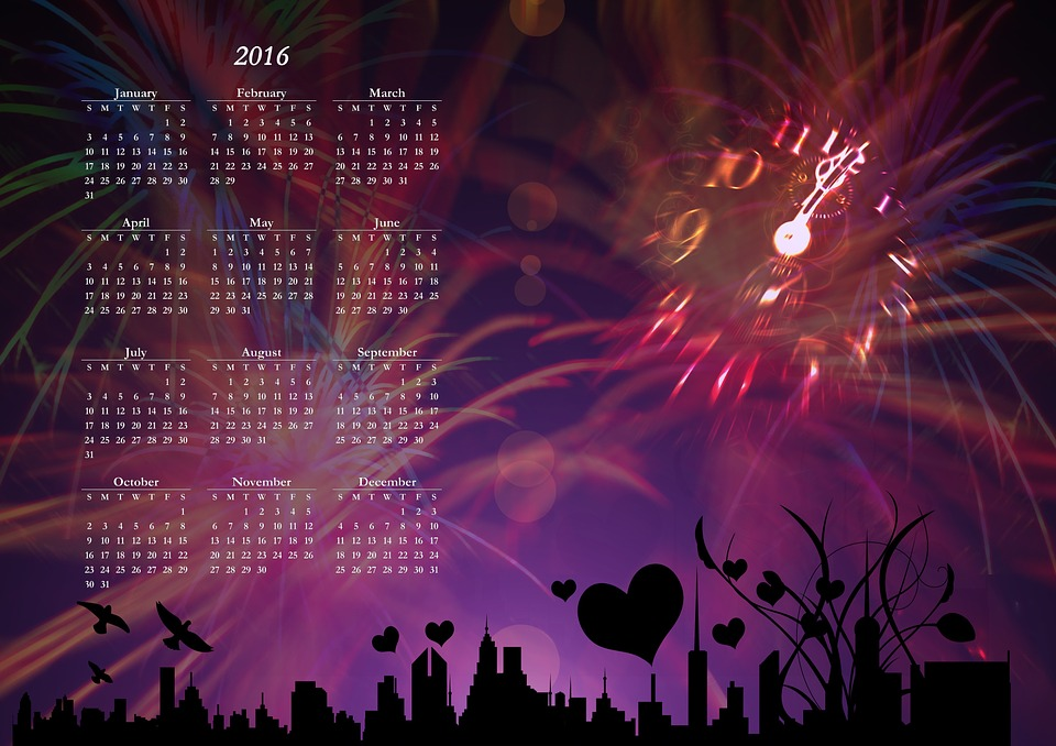 New Year'S Day Wallpaper