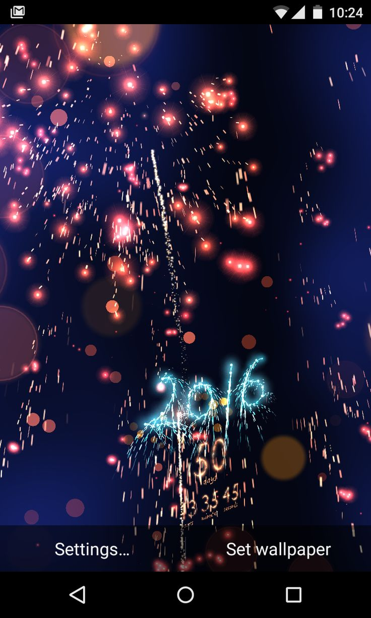 New Years Eve Countdown Live Wallpaper