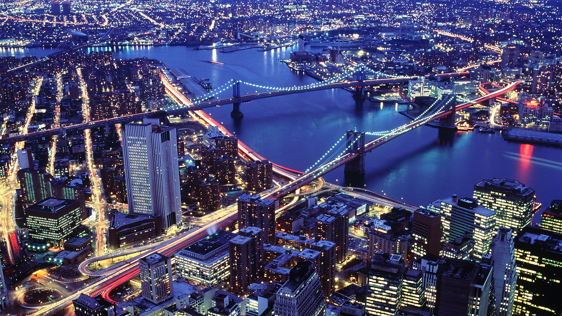 New York At Night Wallpapers