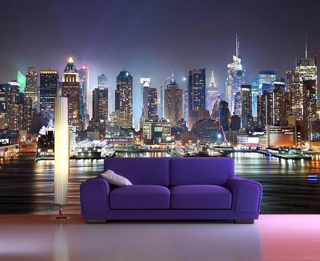 Download New York City Skyline Wallpaper For Bedroom Gallery