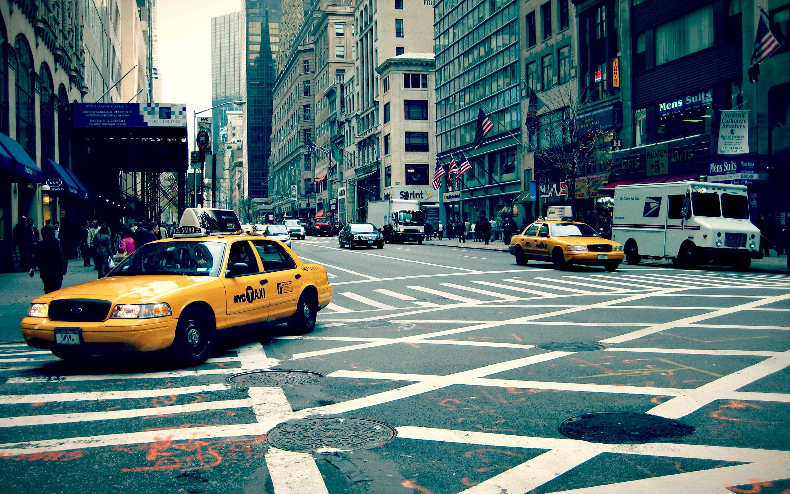 New York City Streets Wallpaper