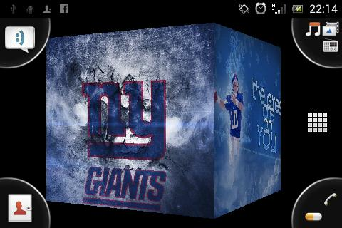 New York Giants Live Wallpaper