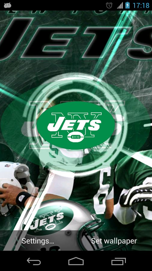 New York Jets Live Wallpaper