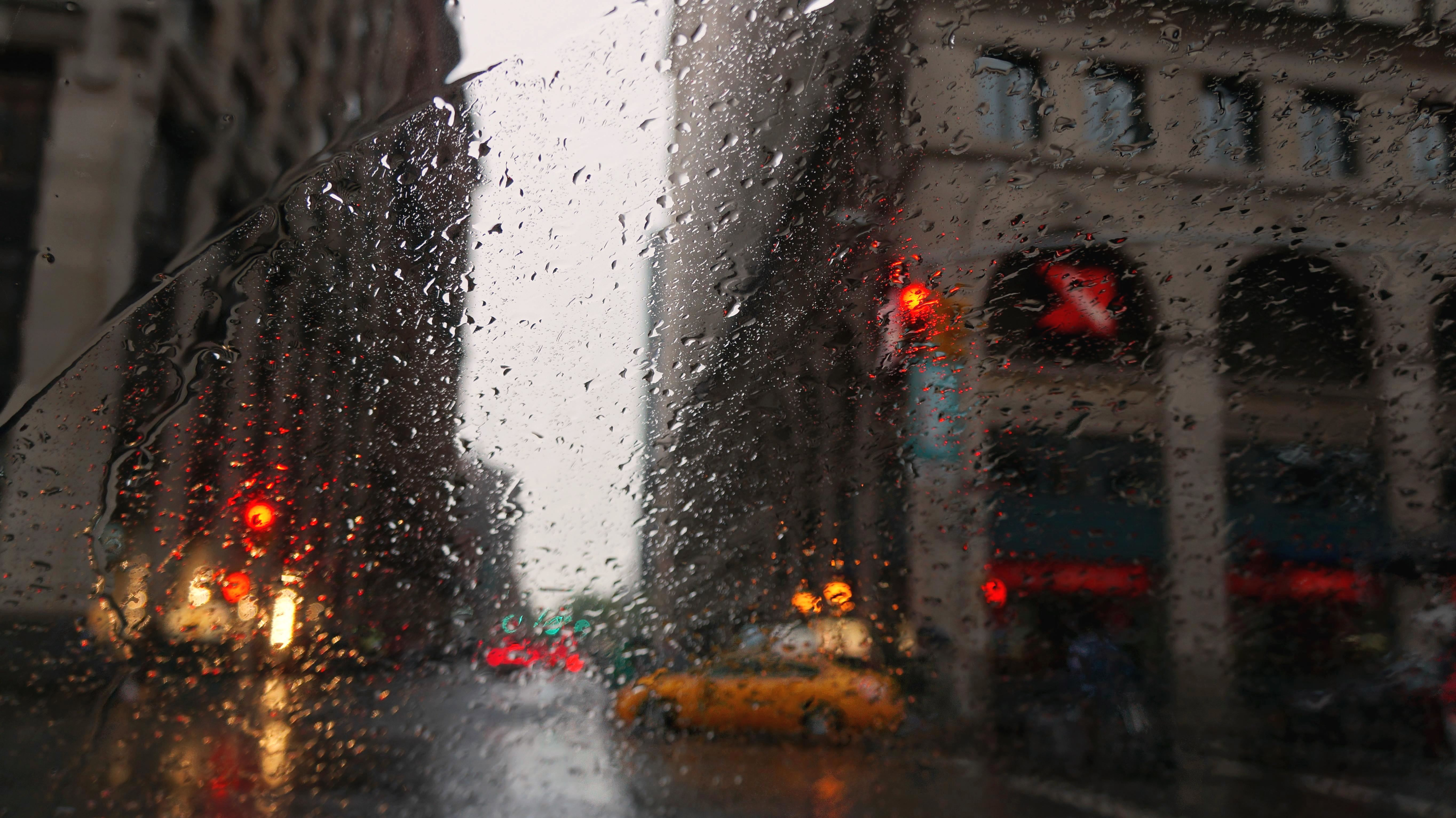 Download New York Rain Wallpaper Gallery