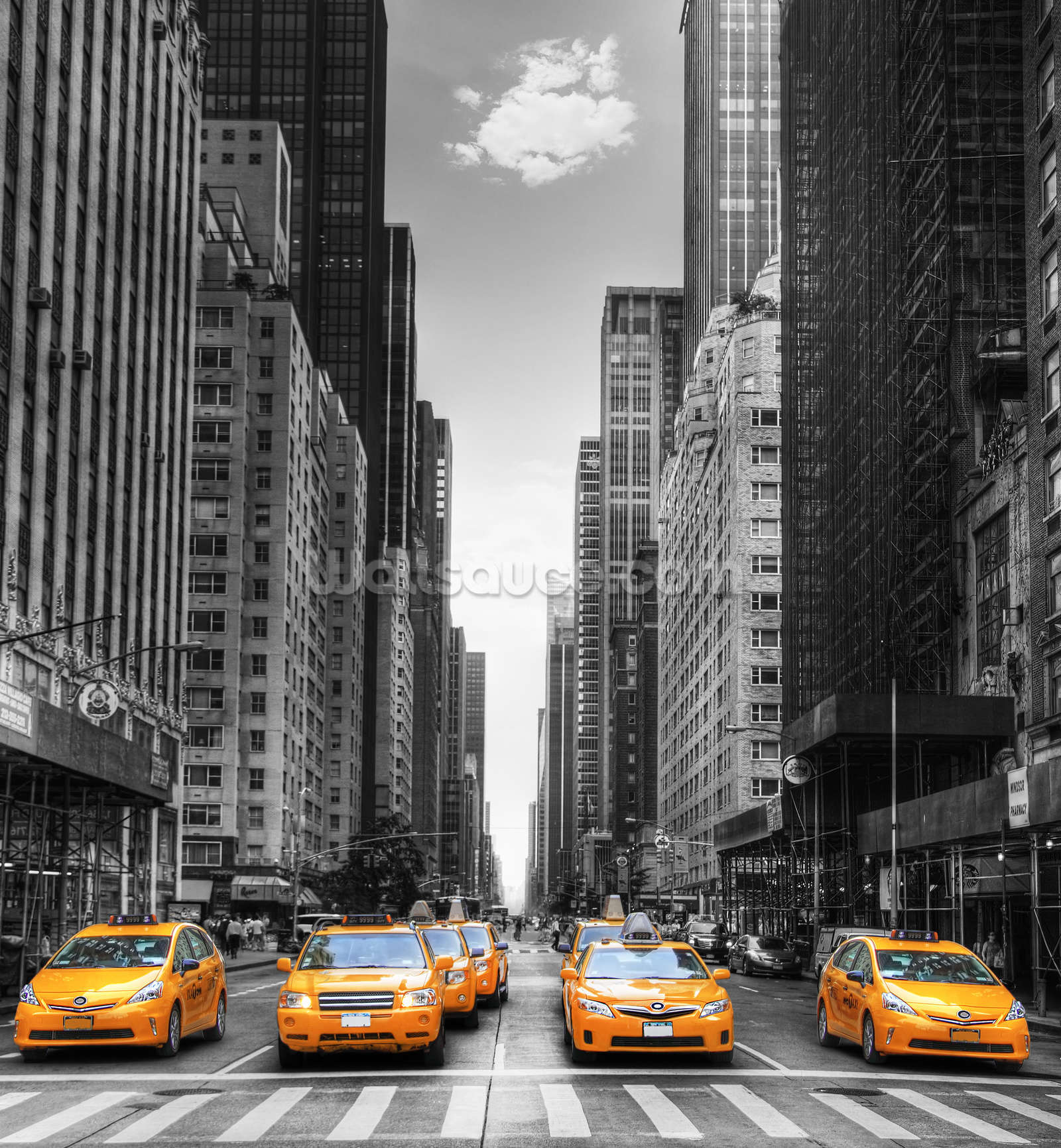 Download New York Wallpaper Yellow Taxi Gallery