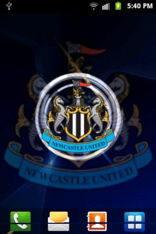 Newcastle United Live Wallpaper