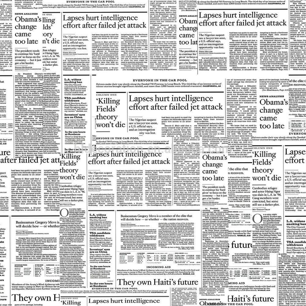 Newspaper Design Wallpaper