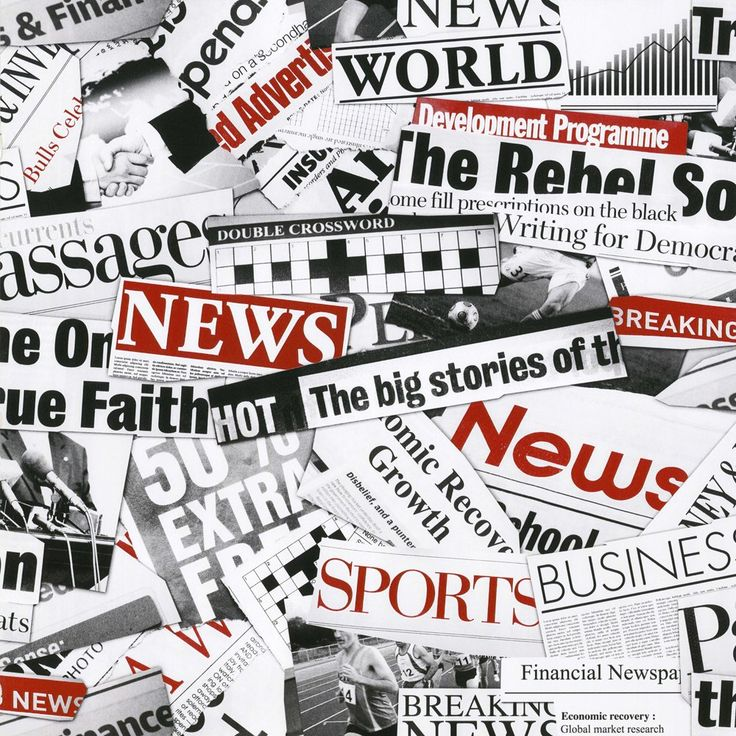 Newspaper Wallpaper Design
