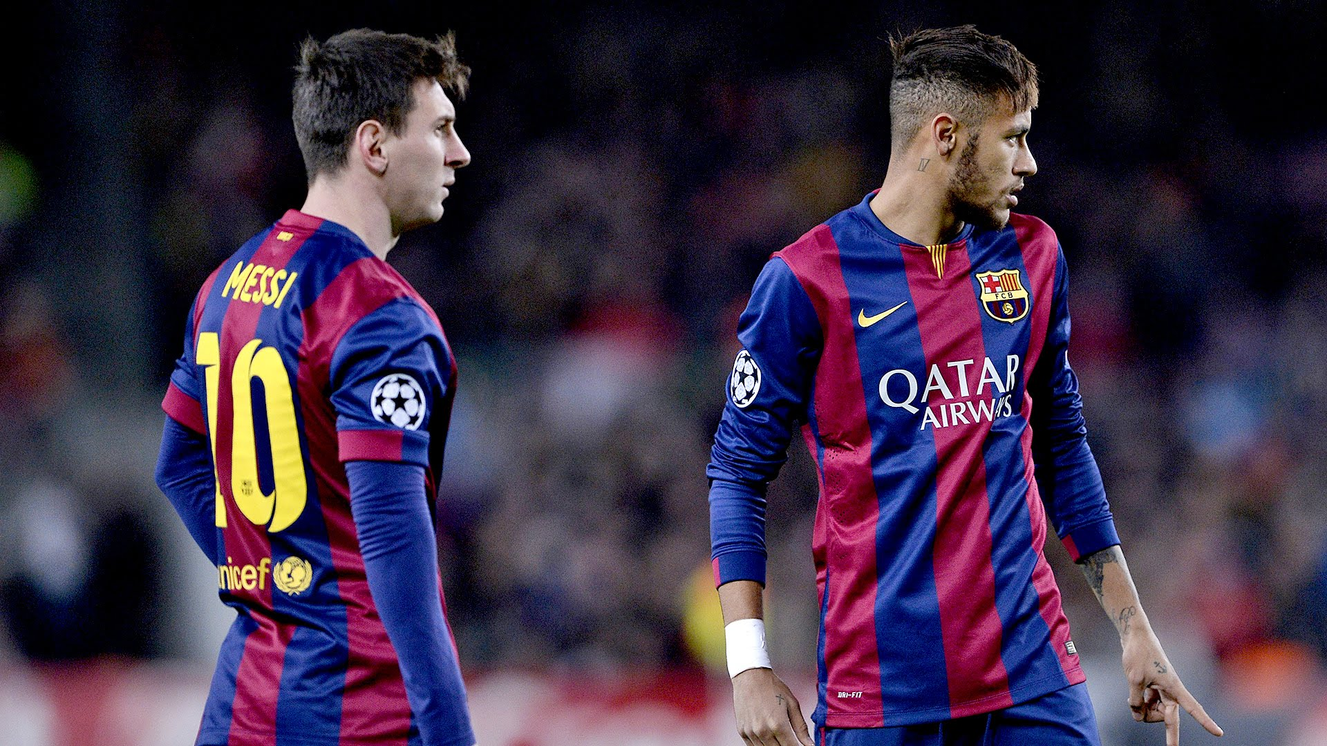 Neymar And Messi Wallpaper