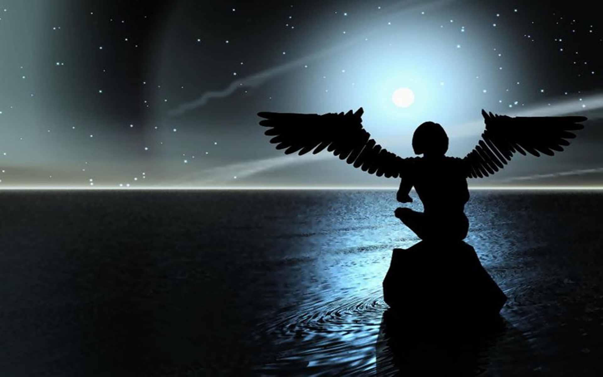 Night Angel Wallpaper