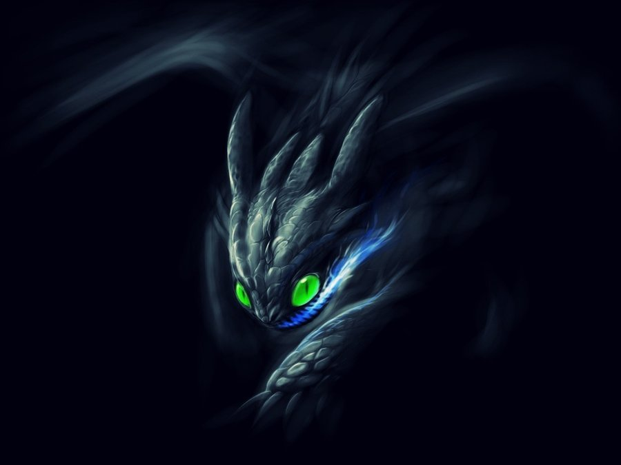 Night Fury Wallpaper