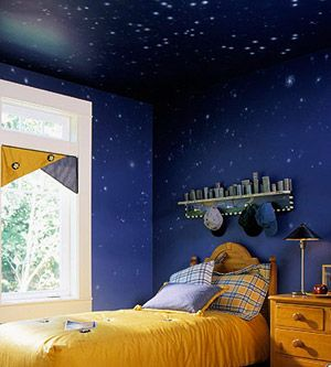 Night Sky Bedroom Wallpaper