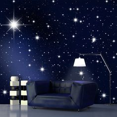 Night Sky Wallpaper Bedroom