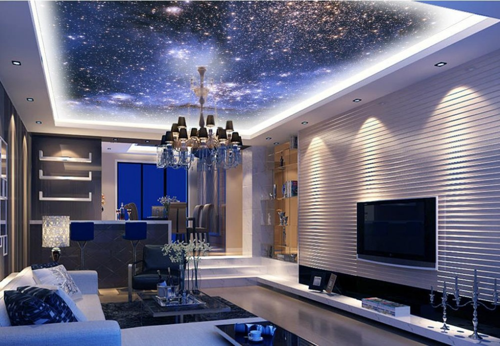 Night Sky Wallpaper For Ceiling