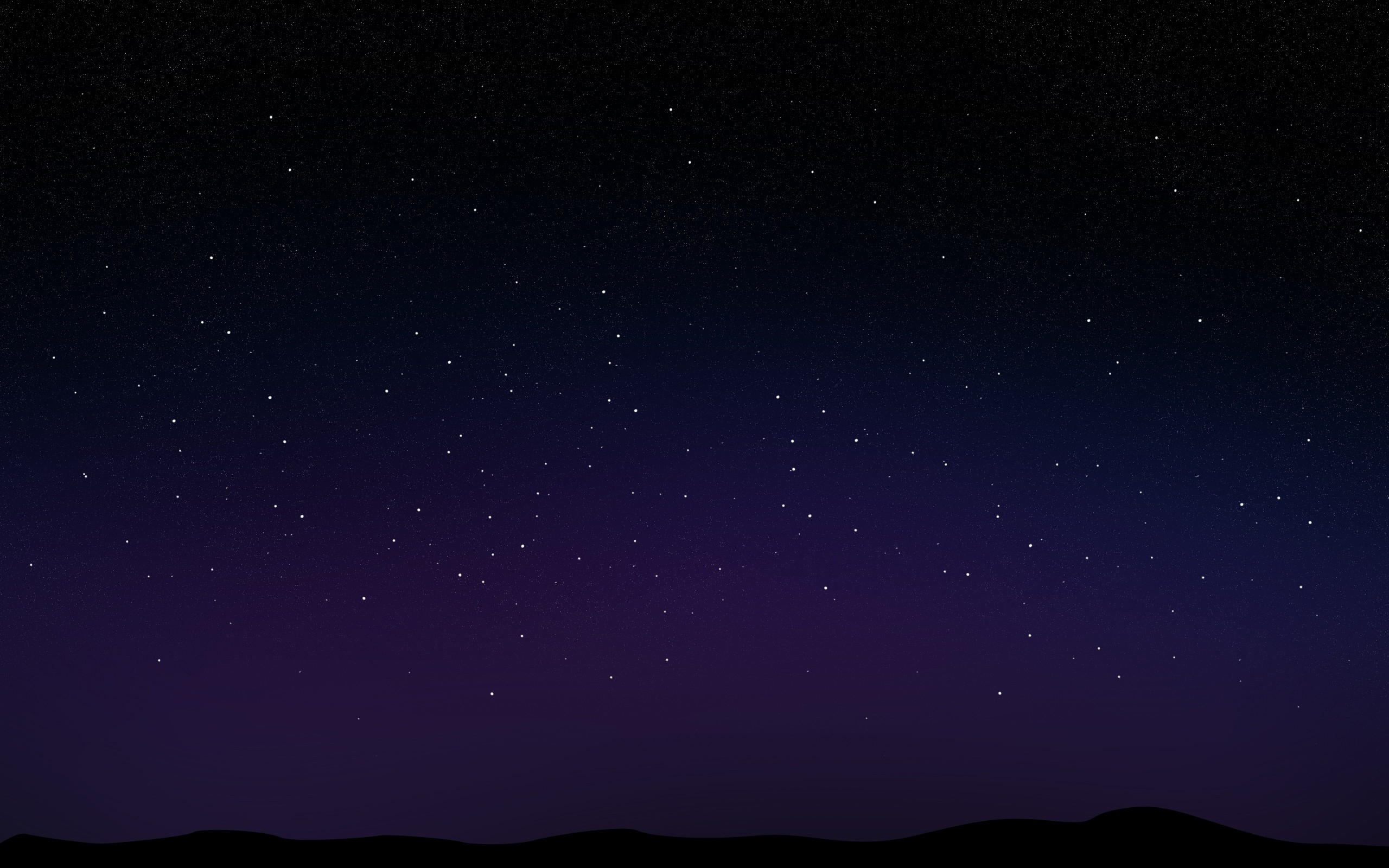 Night Stars Wallpaper