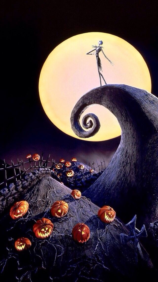 Nightmare Before Christmas Phone Wallpaper
