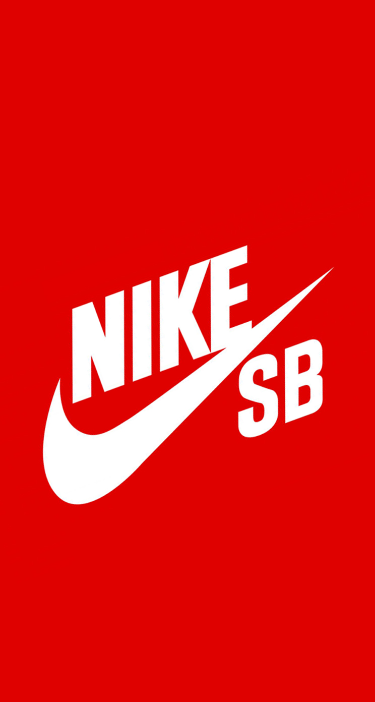 Nike logo red wallpaper