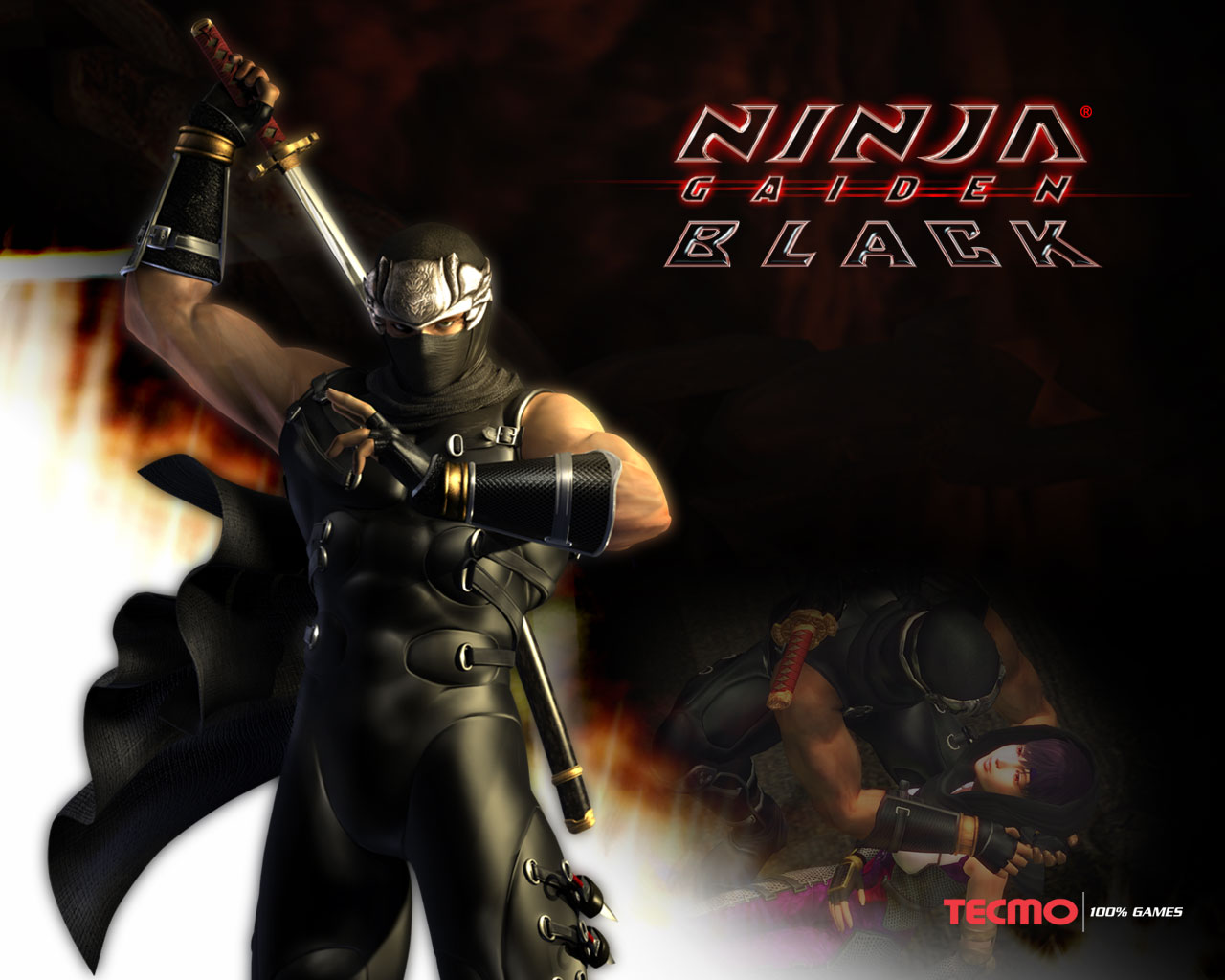 Ninja Gaiden Black Wallpaper
