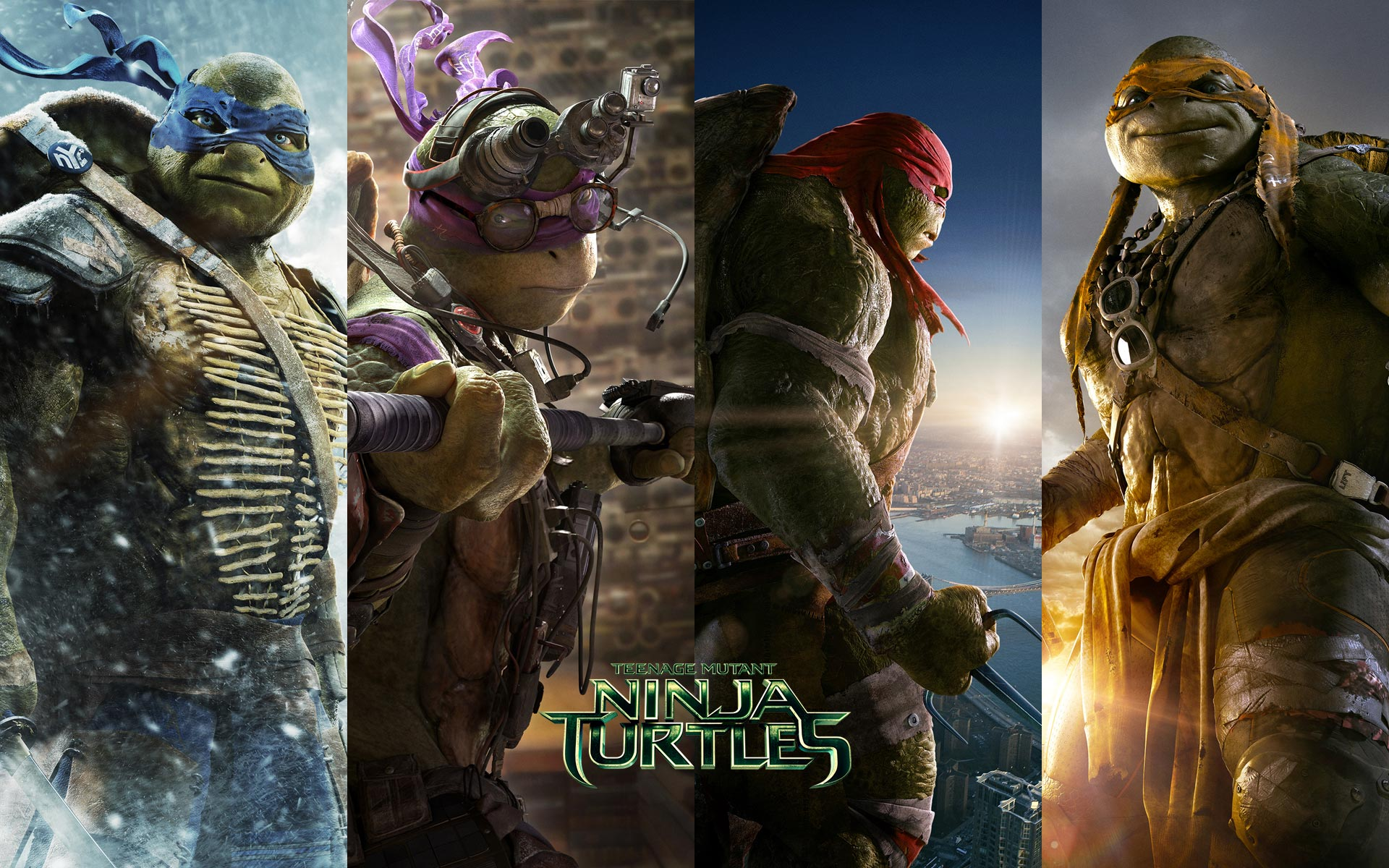 Ninja Turtles 2014 Wallpaper