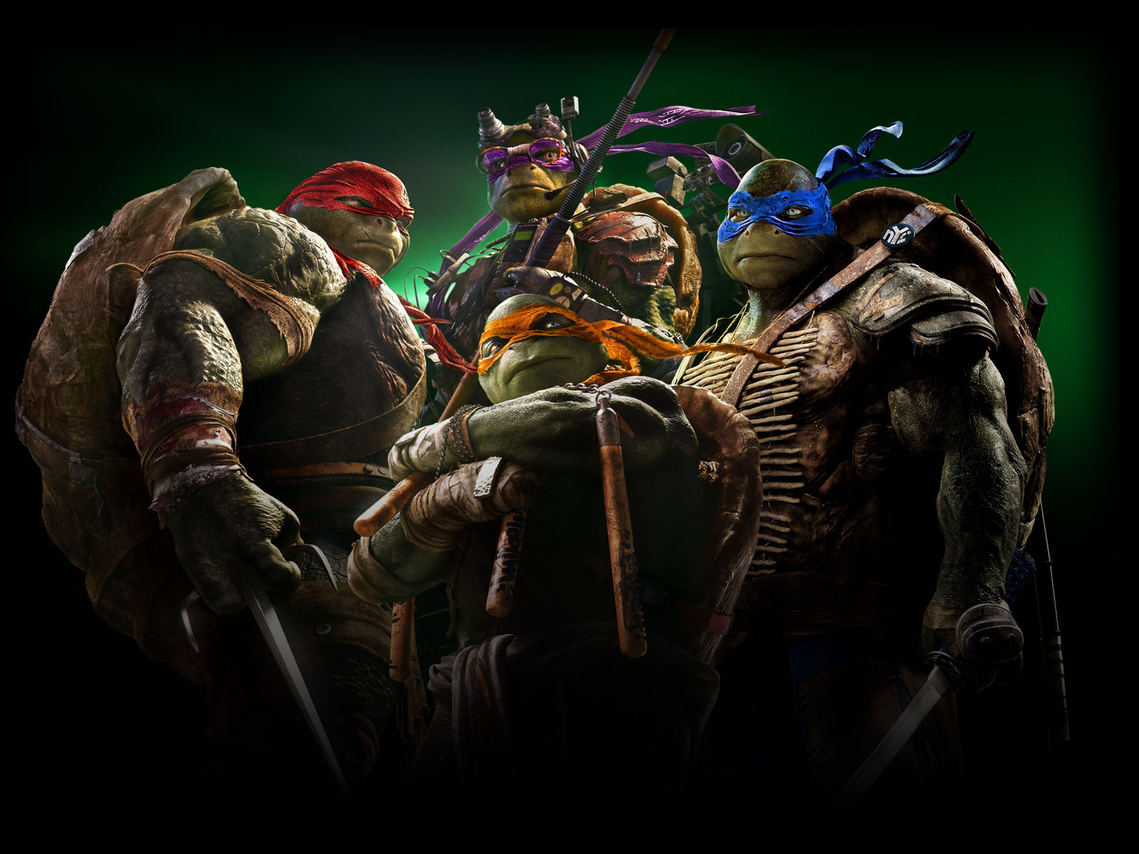 Ninja Turtles Movie Wallpaper