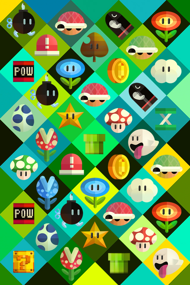 Nintendo Iphone Wallpapers
