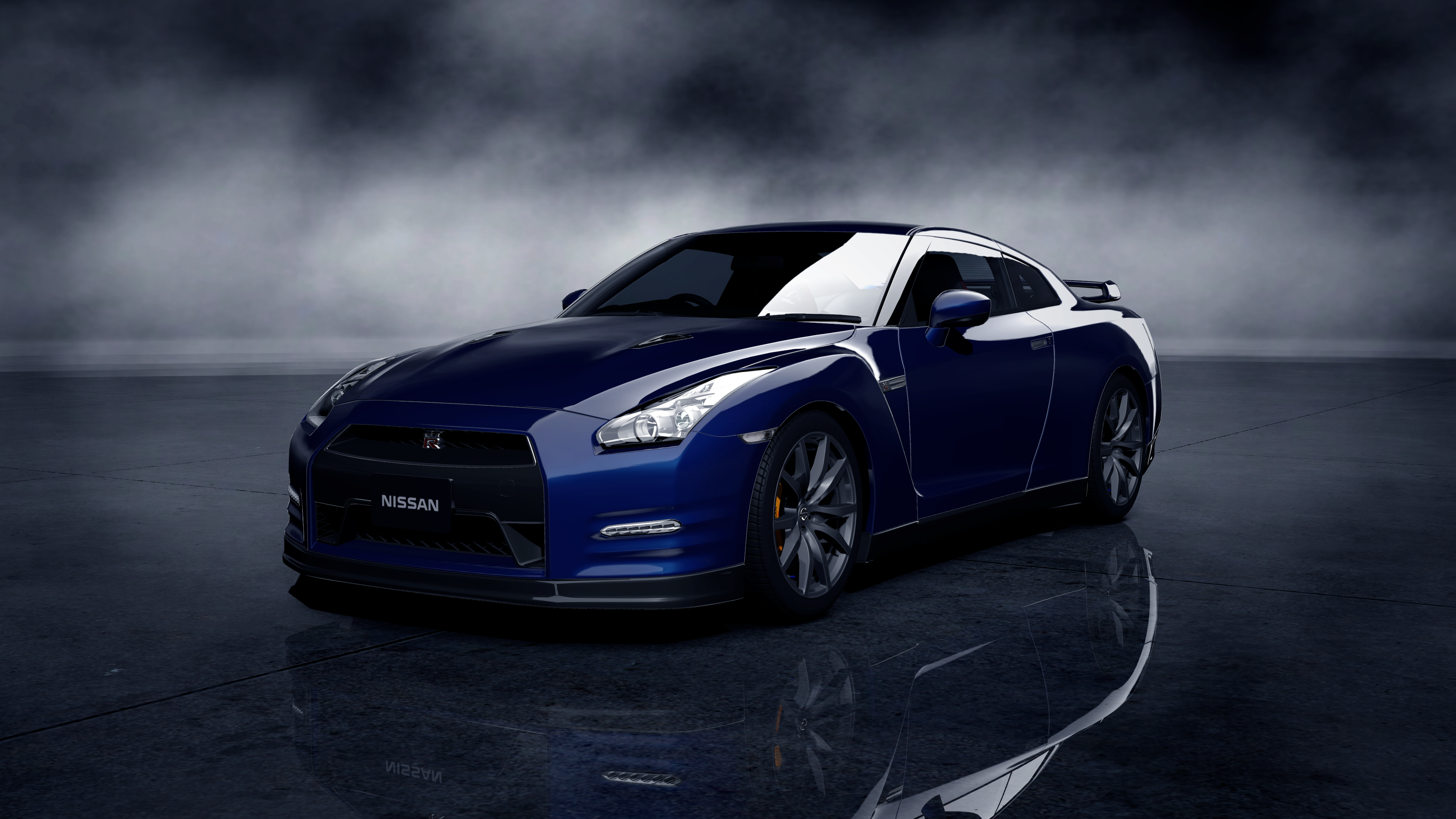Nissan Gtr Black Edition Wallpaper