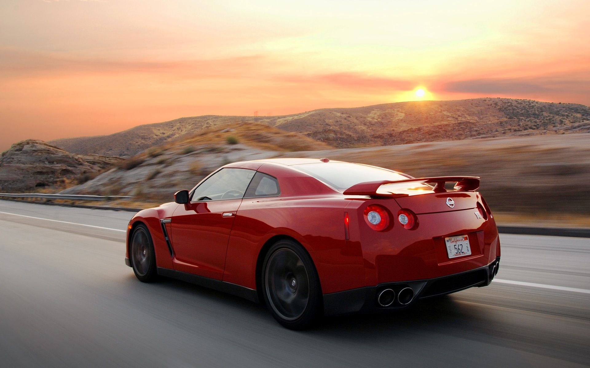 Nissan Gtr Red Wallpaper