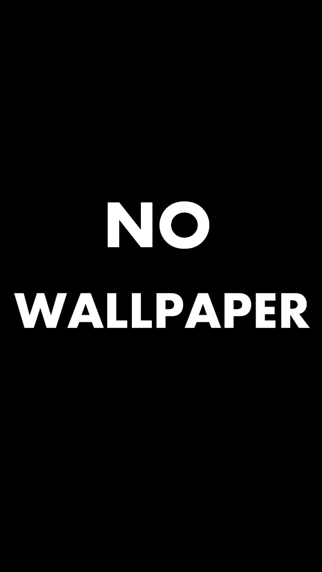 No Wallpaper Iphone