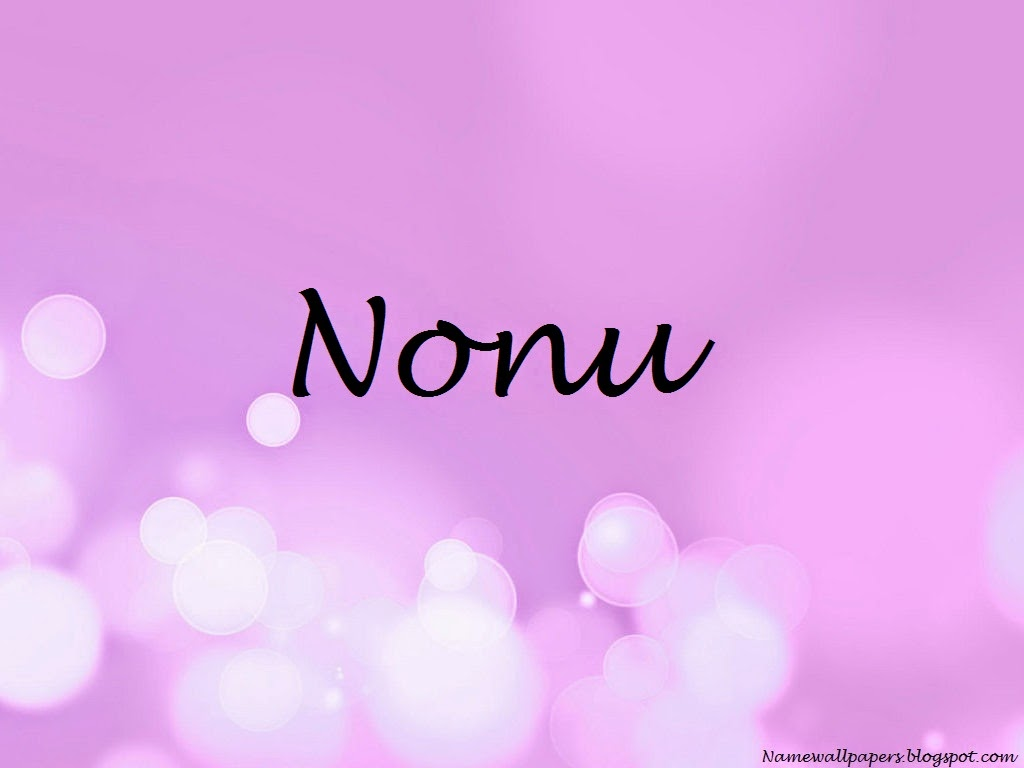 Nonu Name Wallpaper