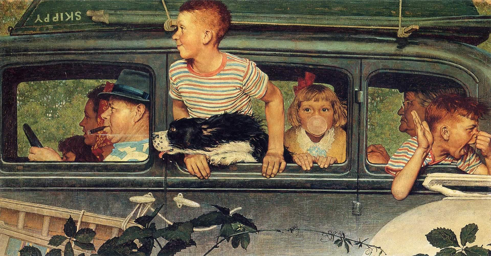 Norman Rockwell Wallpaper