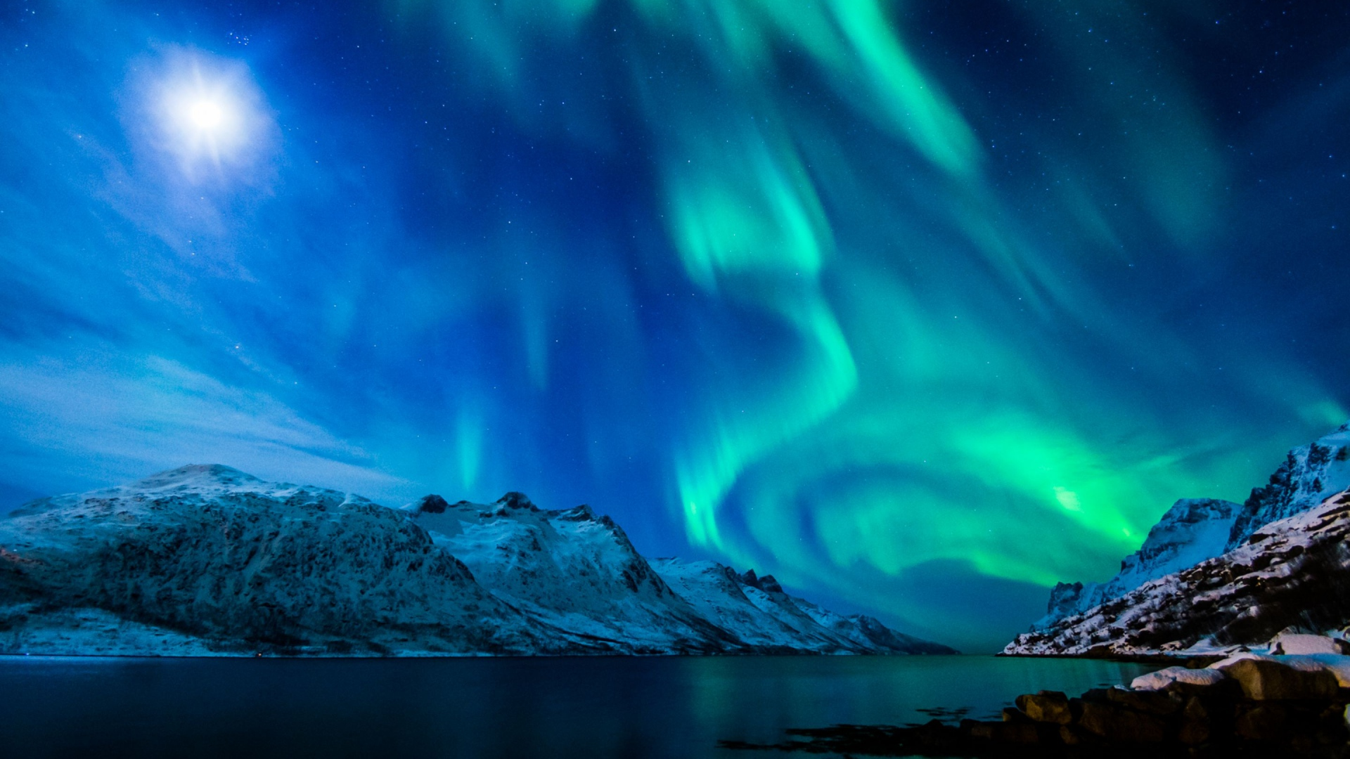 Northern Lights Wallpaper 1080p