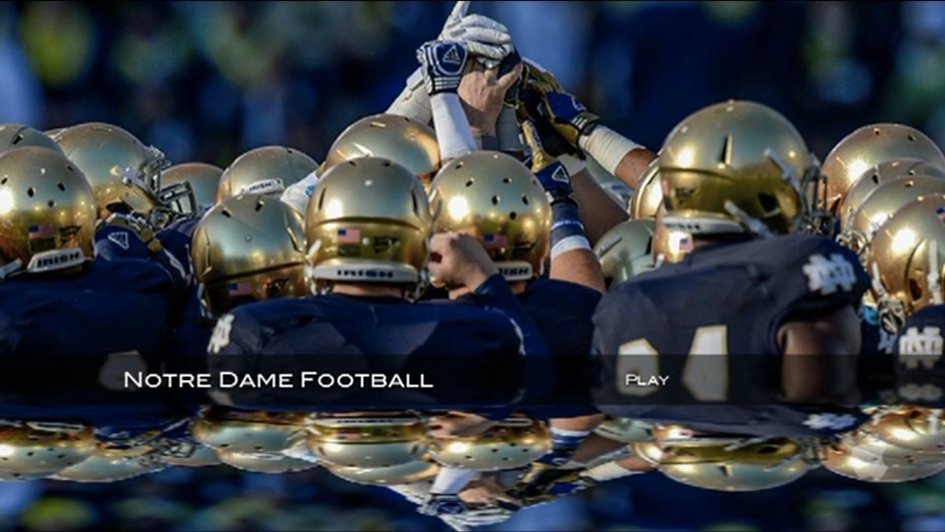 Notre Dame Football Desktop Wallpaper