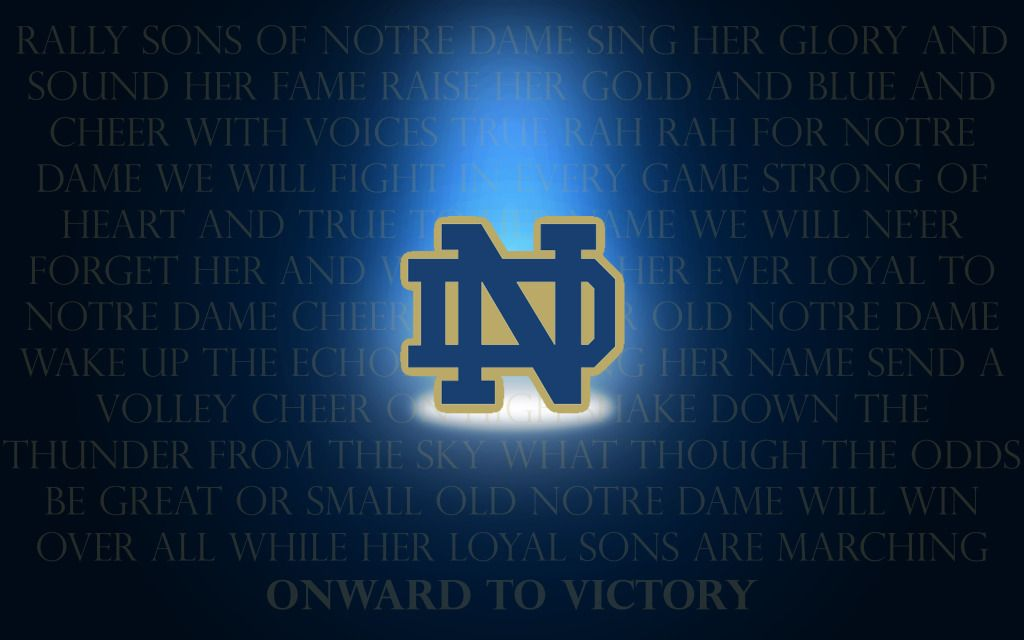 Notre Dame Football Wallpapers