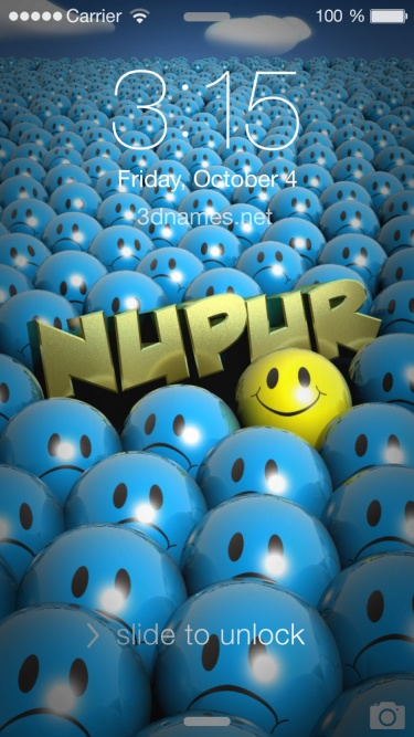 Nupur Name Wallpaper