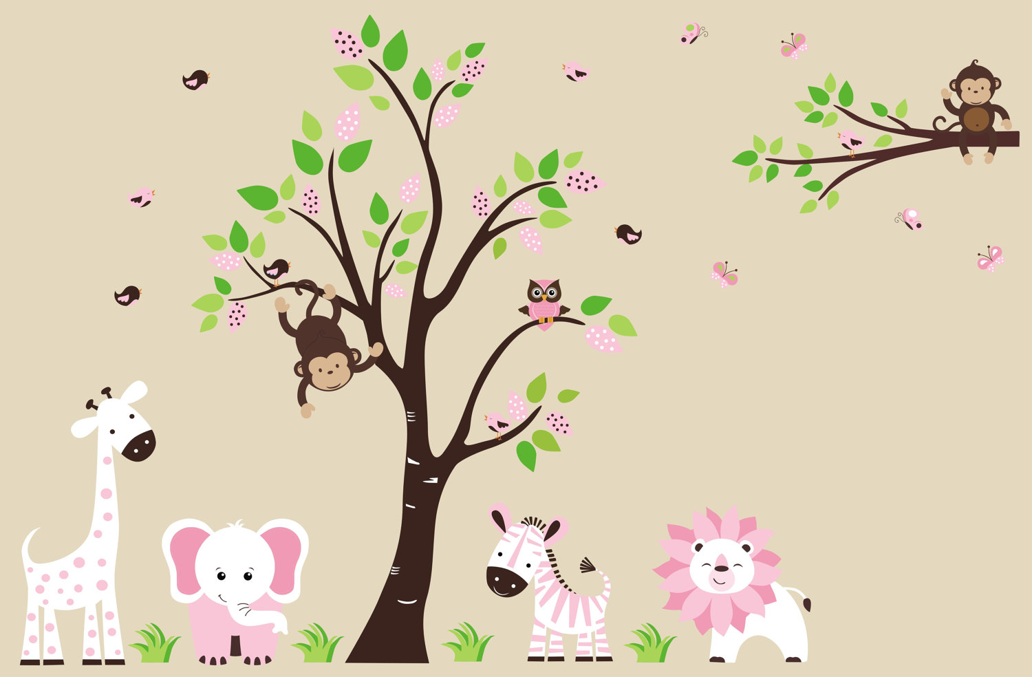 Nursery Wallpaper Animals
