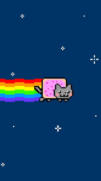 Nyan Cat Phone Wallpaper