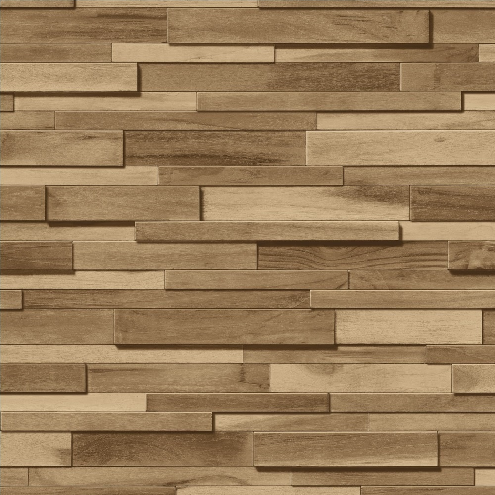Oak Effect Wallpaper