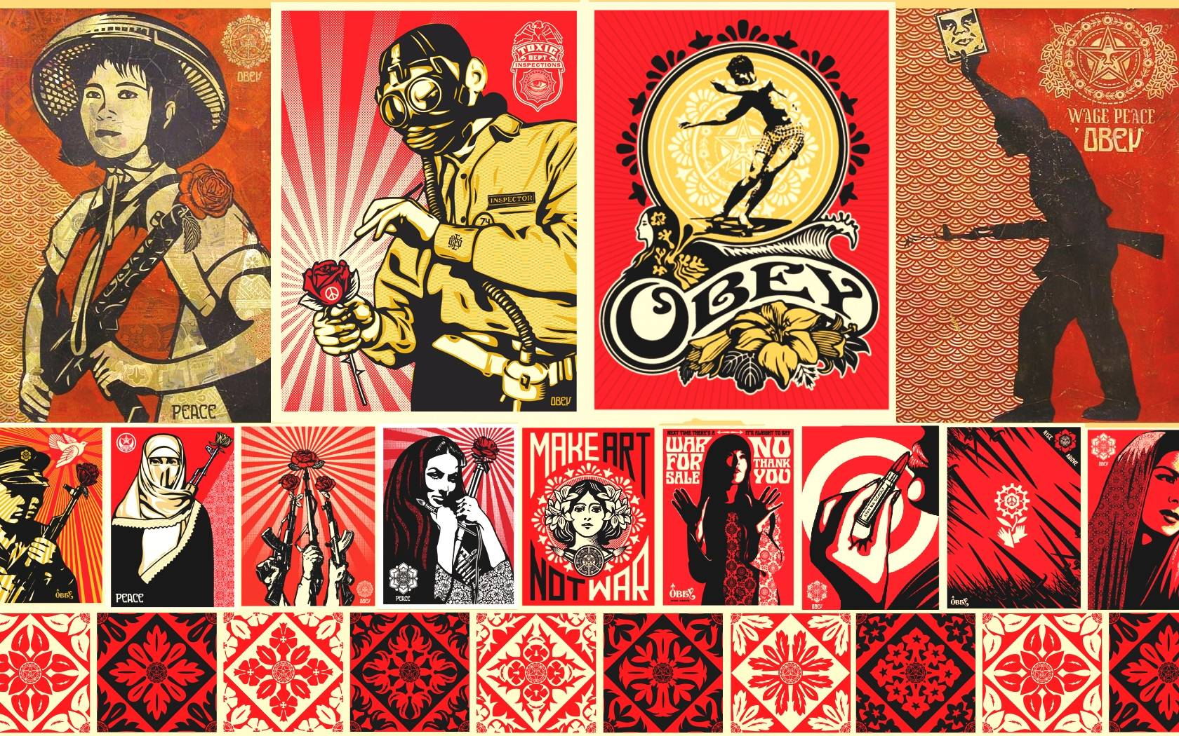 Obey Clothing Wallpaper