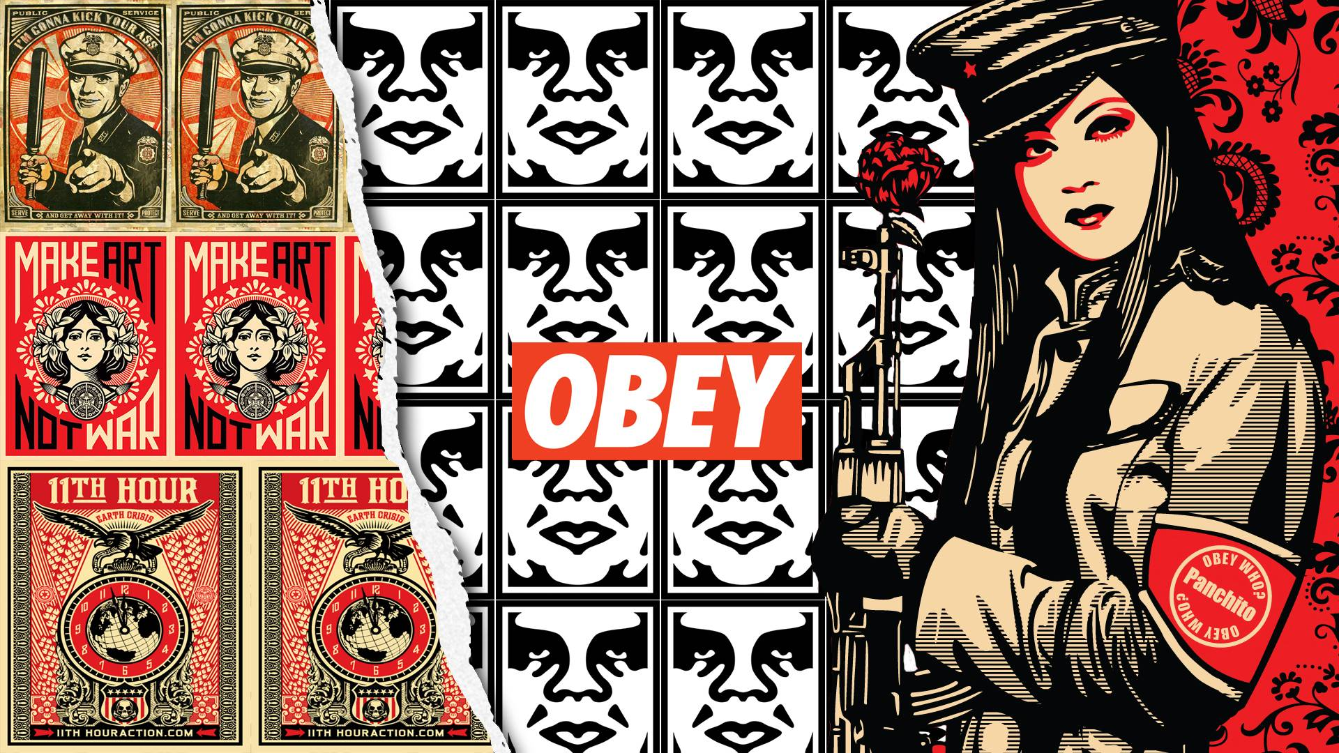 Obey Wallpaper For Room