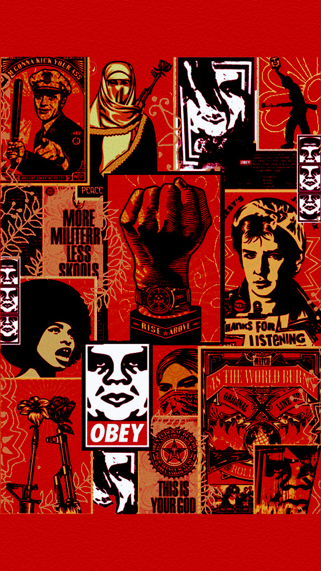 Obey Wallpaper Iphone