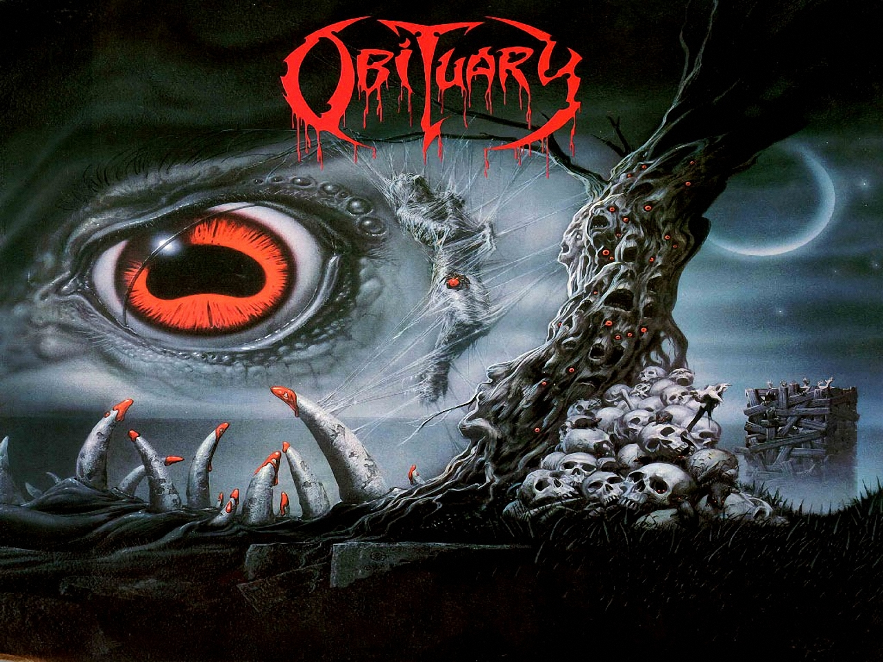 Obituary Band Wallpaper