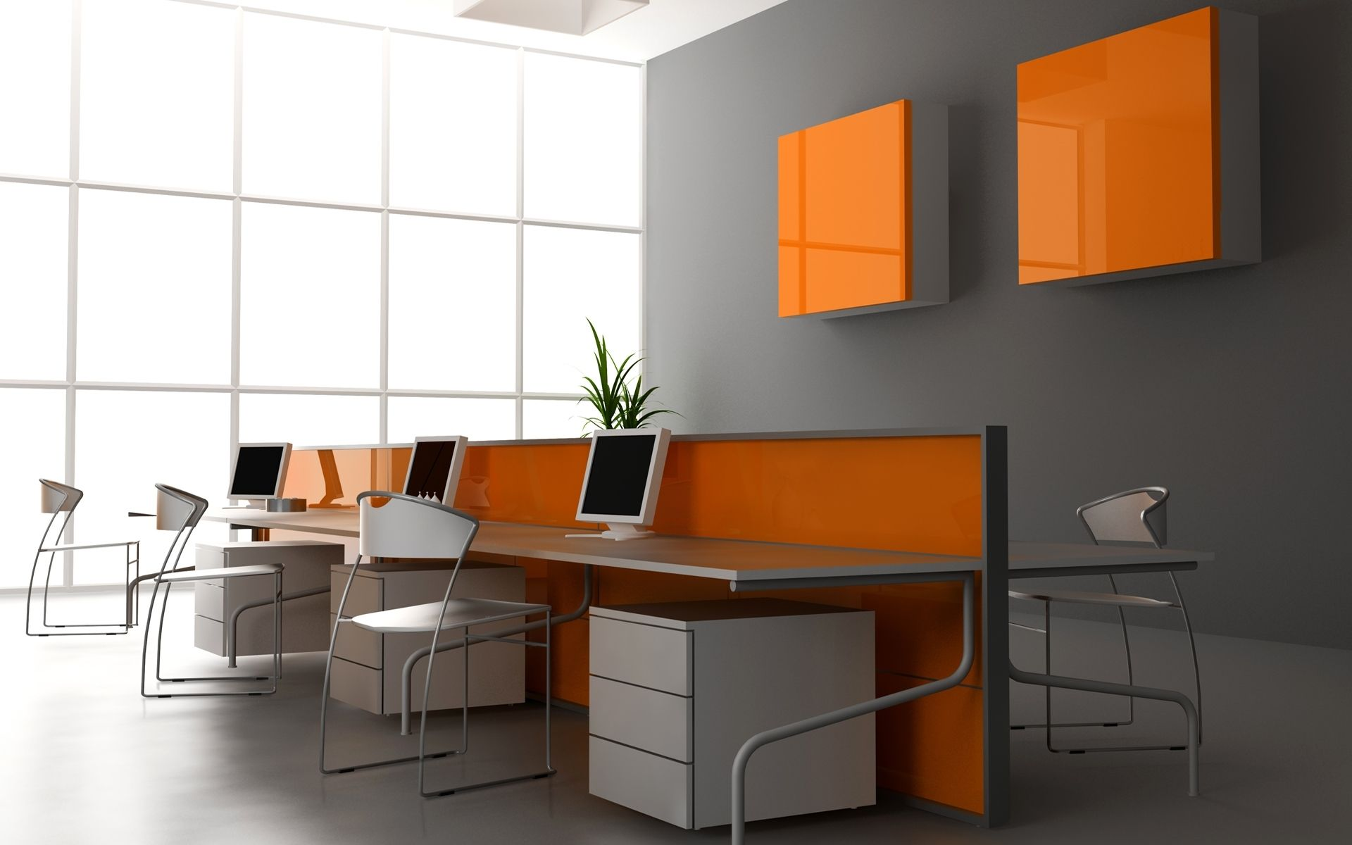 Office Background Wallpaper