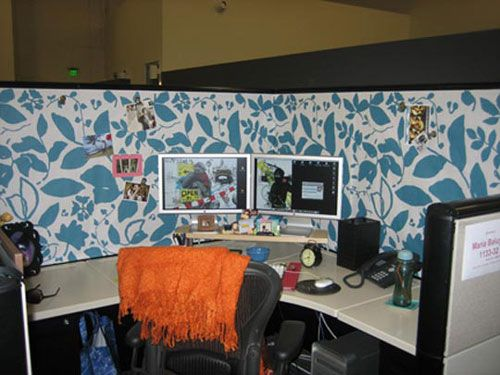 Office Cubicle Wallpaper