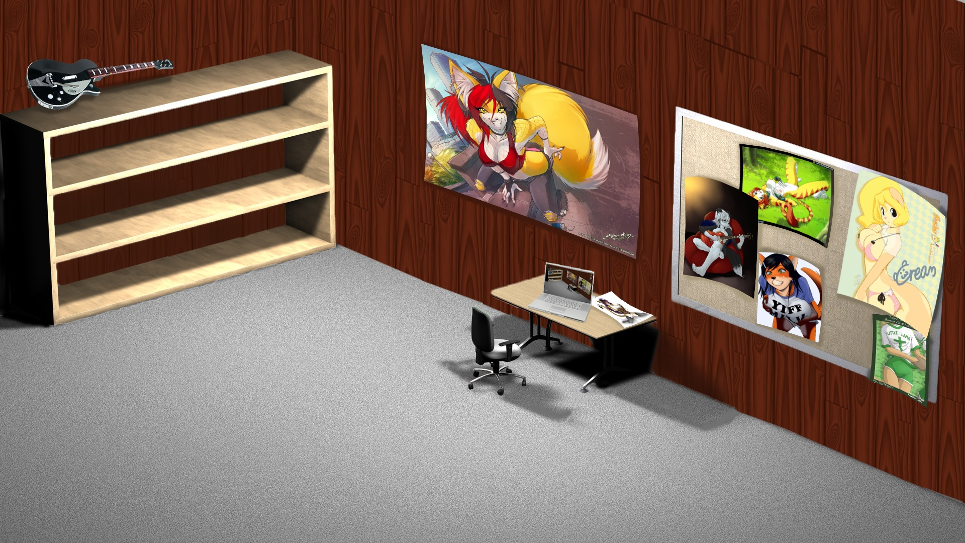 Office Wallpaper Background