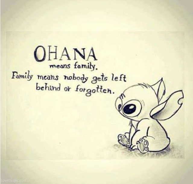 Ohana Means Family Wallpaper