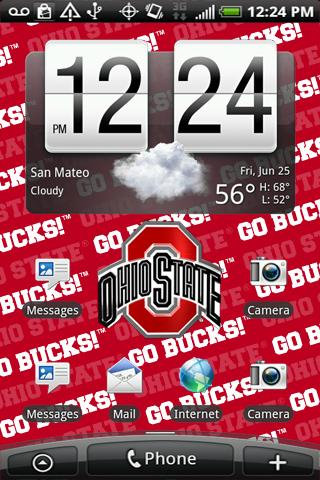 Ohio State Live Wallpaper