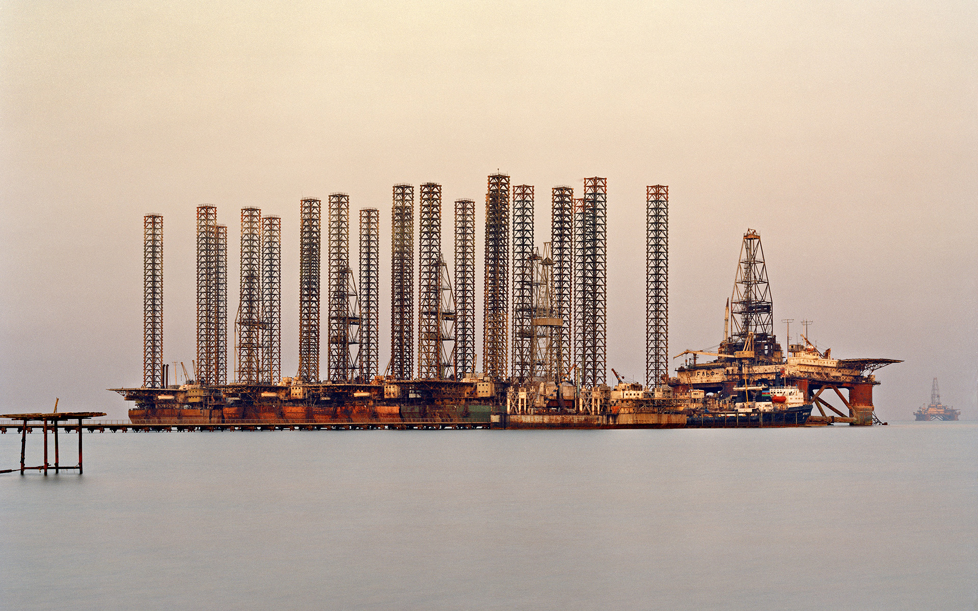 Oil Refinery Wallpaper