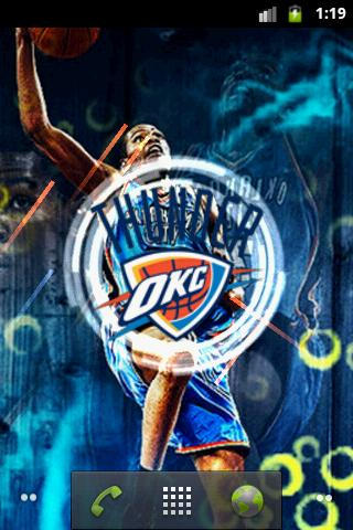 Okc Thunder Live Wallpaper