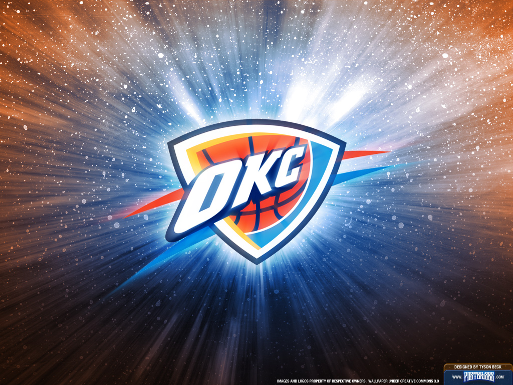 Oklahoma City Thunder Logo Wallpaper